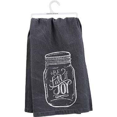 Primitves By Kathy Tea Towel - Full of Joy