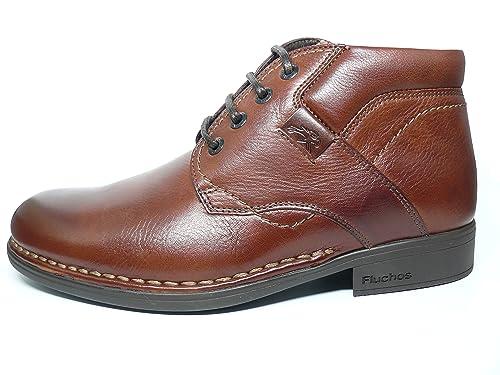 Fluchos- Retail ES Spain Erik, Zapatos de Cordones Oxford para Hombre, Marrón (Libano), 42 EU