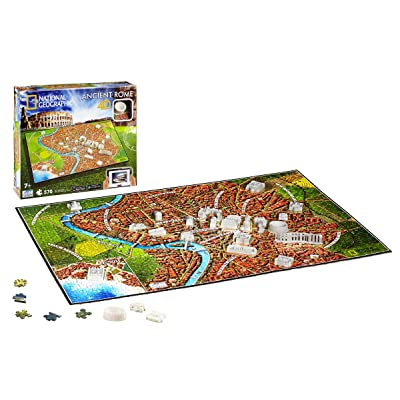 4D Cityscape Inc 4D National Geographic Ancient Rome Puzzle Puzzle: Toys & Games
