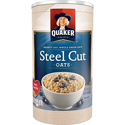 Quaker Avena, acero Cut, 30 onza: Amazon.com: Grocery ...