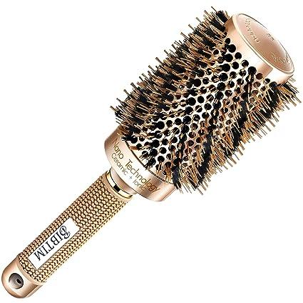 Review [Upgrade] BIBTIM Round Hair