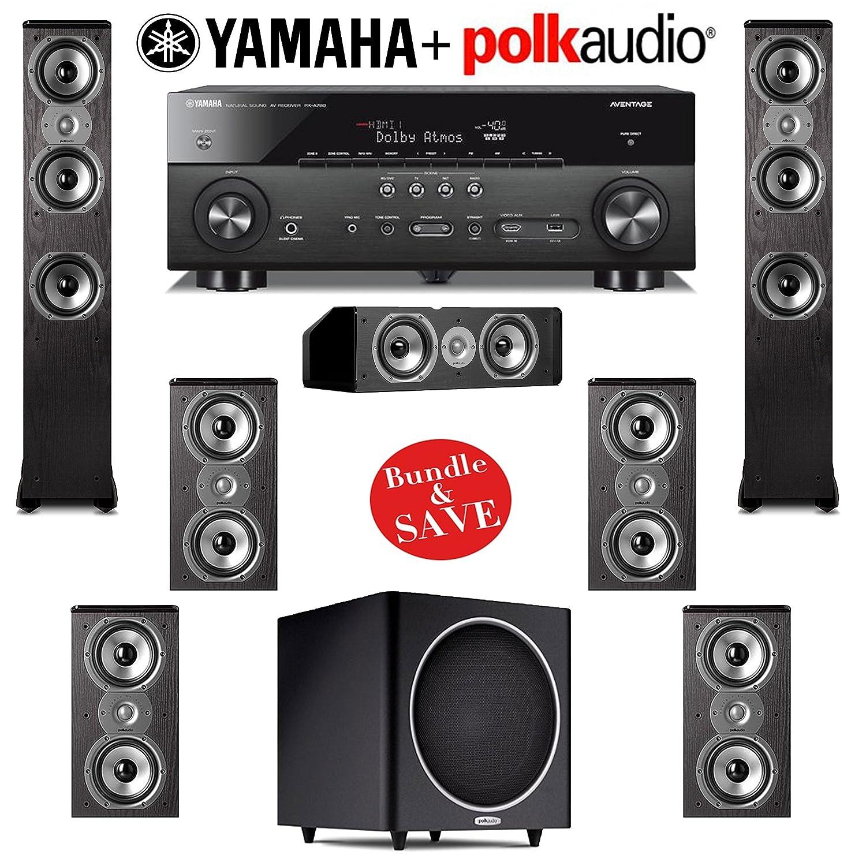 Amazon com: Polk Audio TSI 400 7 1 Home Theater Speaker