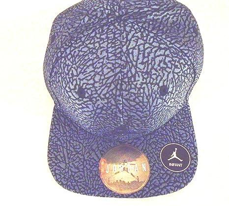 6adaef8e53210a ... discount nike air jordan 1 retro unsupreme elevated elephant print  court cap snapback hat midnight navy