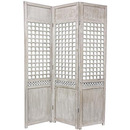 lattice room divider