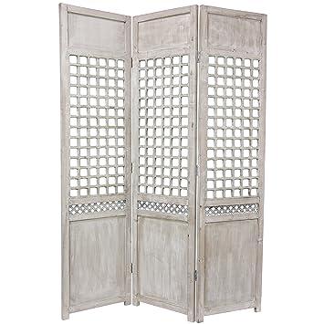 Amazoncom Oriental Furniture 6 Ft Tall Open Lattice Room Divider