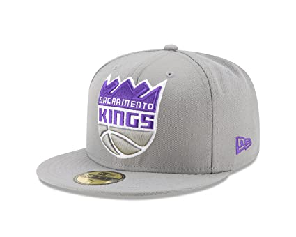 buy online 70013 3a069 Buy New Era NBA Sacramento Kings Logo Grand Fitted 59Fifty Cap, 7.625,  Graphite Online at Low Prices in India - Amazon.in