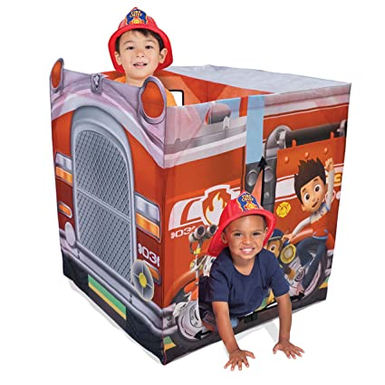 Playhut Paw Patrol EZ Vehicle Fire Truck Playhouse Red  sc 1 st  Amazon.com & Amazon.com: Playhut Paw Patrol EZ Vehicle Fire Truck Playhouse ...