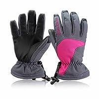 Babimax Men Women Waterproof Thermal Winter Ski Gloves Snowboard Snowmobile Motorcycle Cycling Outdoor Sports Gloves