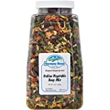 Harmony House Italian Vegetable Soup Mix – Gluten Free, Low Sodium, For Cooking, Camping, Emergency Supply & More (14 oz. Jar