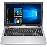 "ASUS R510VX-DM236T - Portátil de 15.6"" Full-HD (Intel Core i7-6700HQ, 16 GB RAM, 1TB HDD, SSD de 128 GB, NVIDIA GeForce GTX 950 de 2 GB, Windows 10) Gris oscuro - Teclado QWERTY Español"