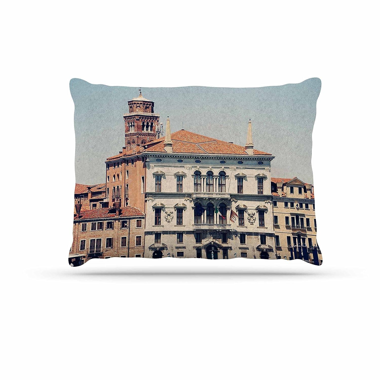 KESS InHouse Sylvia Coomes Venice 6  Travel Coastal Dog Bed, 30  x 40