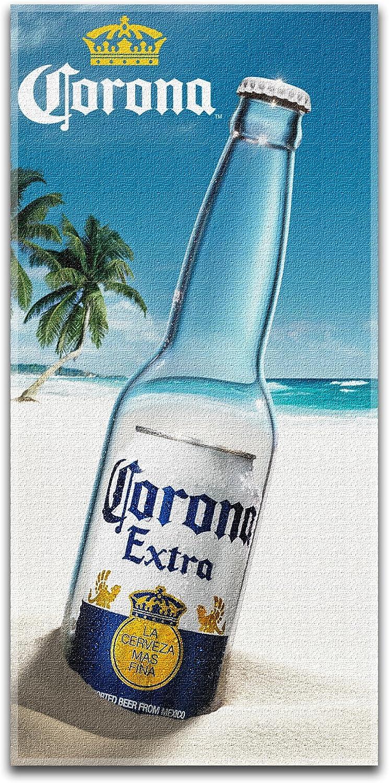 Corona Extra Beer Beach Bath Towel
