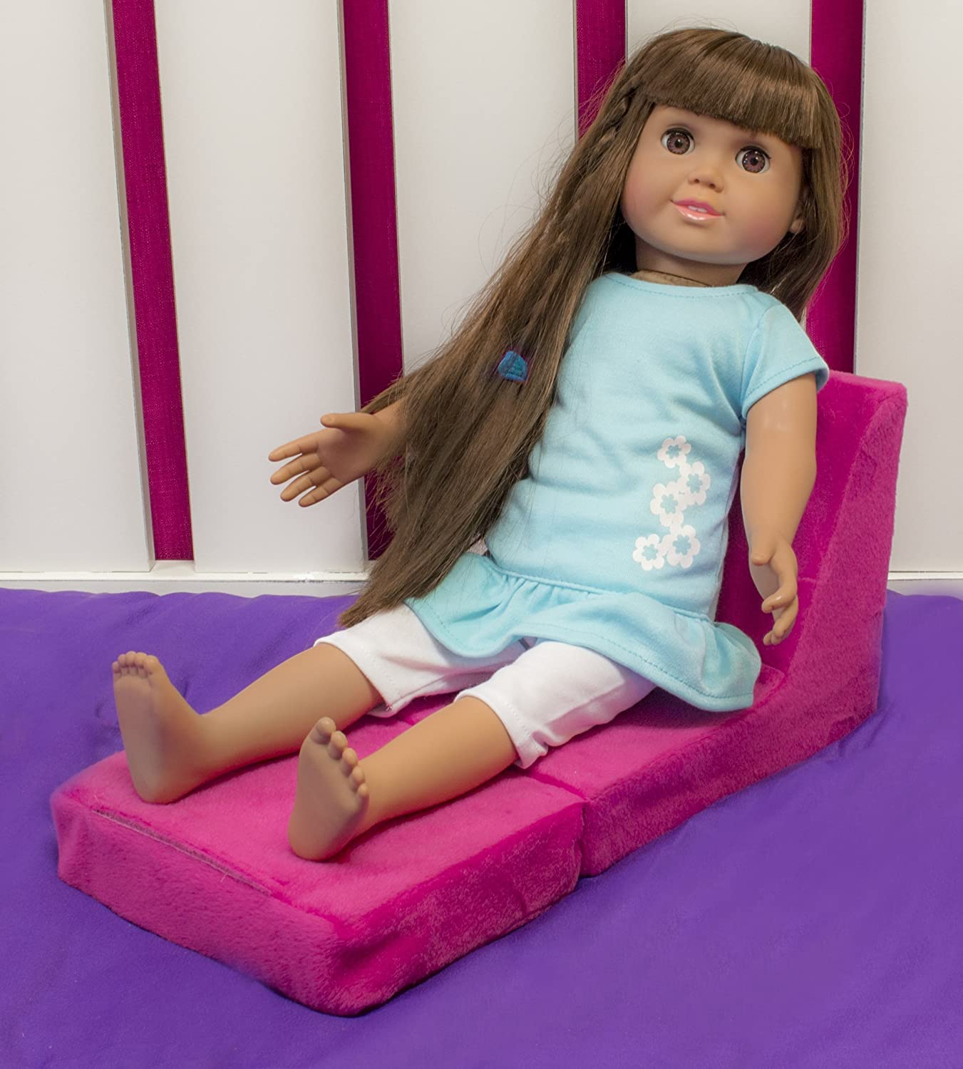 Amazon.com: Springfield Collection by Fibre-Craft 18 Inch Doll Outfit, Cupcake PJs: Toys & Games