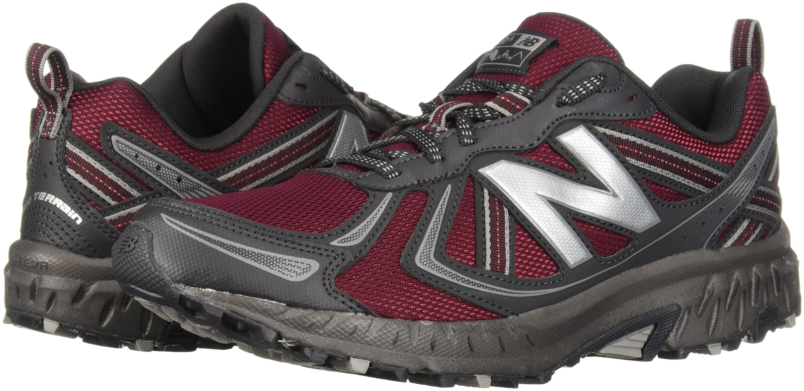 New Balance Men's MT410v5 Cushioning Trail Running Shoe, Oxblood, 7 D US by New Balance (Image #5)