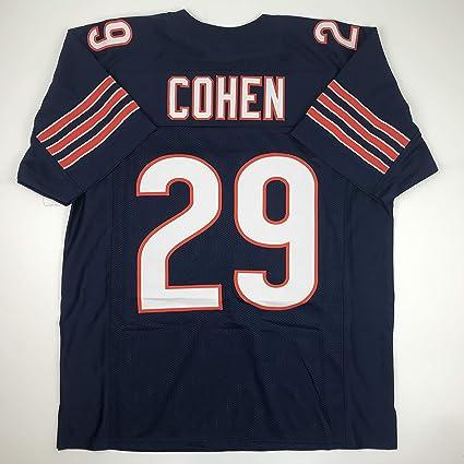 premium selection 59ca0 bd98d Amazon.com: Unsigned Tarik Cohen Chicago Blue Custom ...