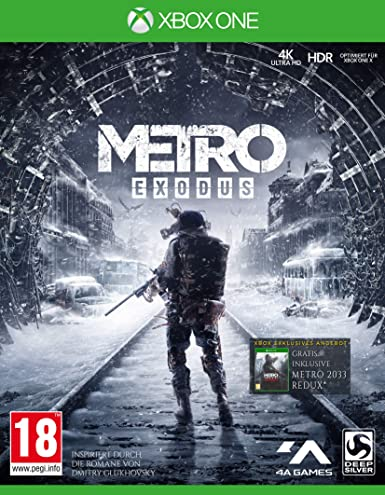Deep Silver Metro Exodus Xbox One Alemán vídeo - Juego (Xbox One ...