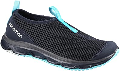 Salomon Damen Rx Moc 3.0 Traillaufschuhe, Blau (Night Sky/Night Sky/Blue Curacao Night Sky/Night Sky/Blue Curacao), 36 EU