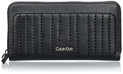 Calvin Klein - Monedero Mujer, Negro (Negro (Black 001 ...