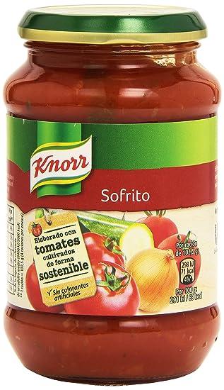 Knorr Salsa Sofrito de Tomate Verduras y Hortalizas - 400 gr