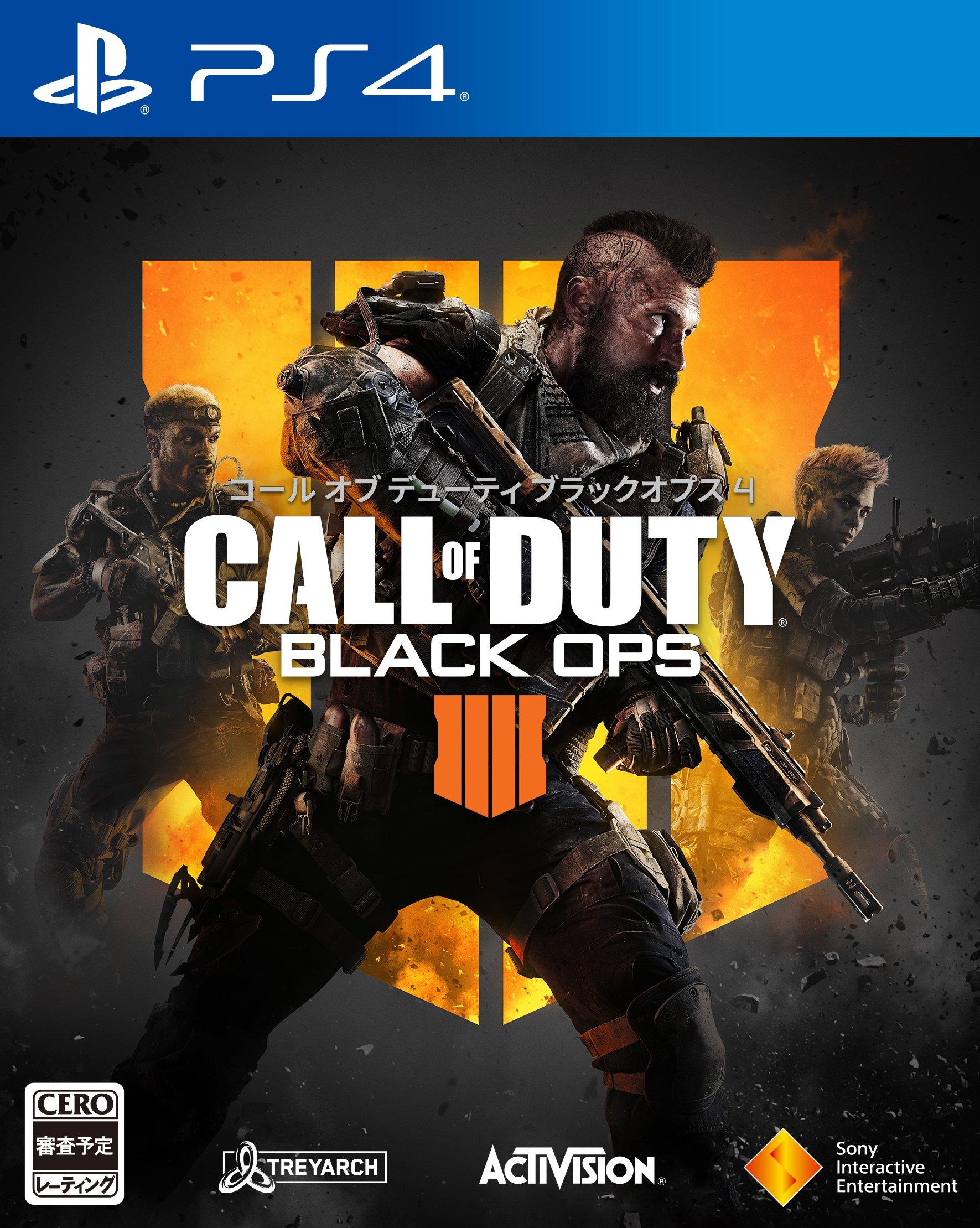 コール オブ デューティ ブラックオプス 4【早期購入特典】「1,100 Call of Duty ポイント」がダウンロード可能なコードチラシ (封入)