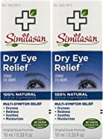 Similasan Dry Eye Relief Eye Drops 0.33 Ounce Bottle, for Temporary