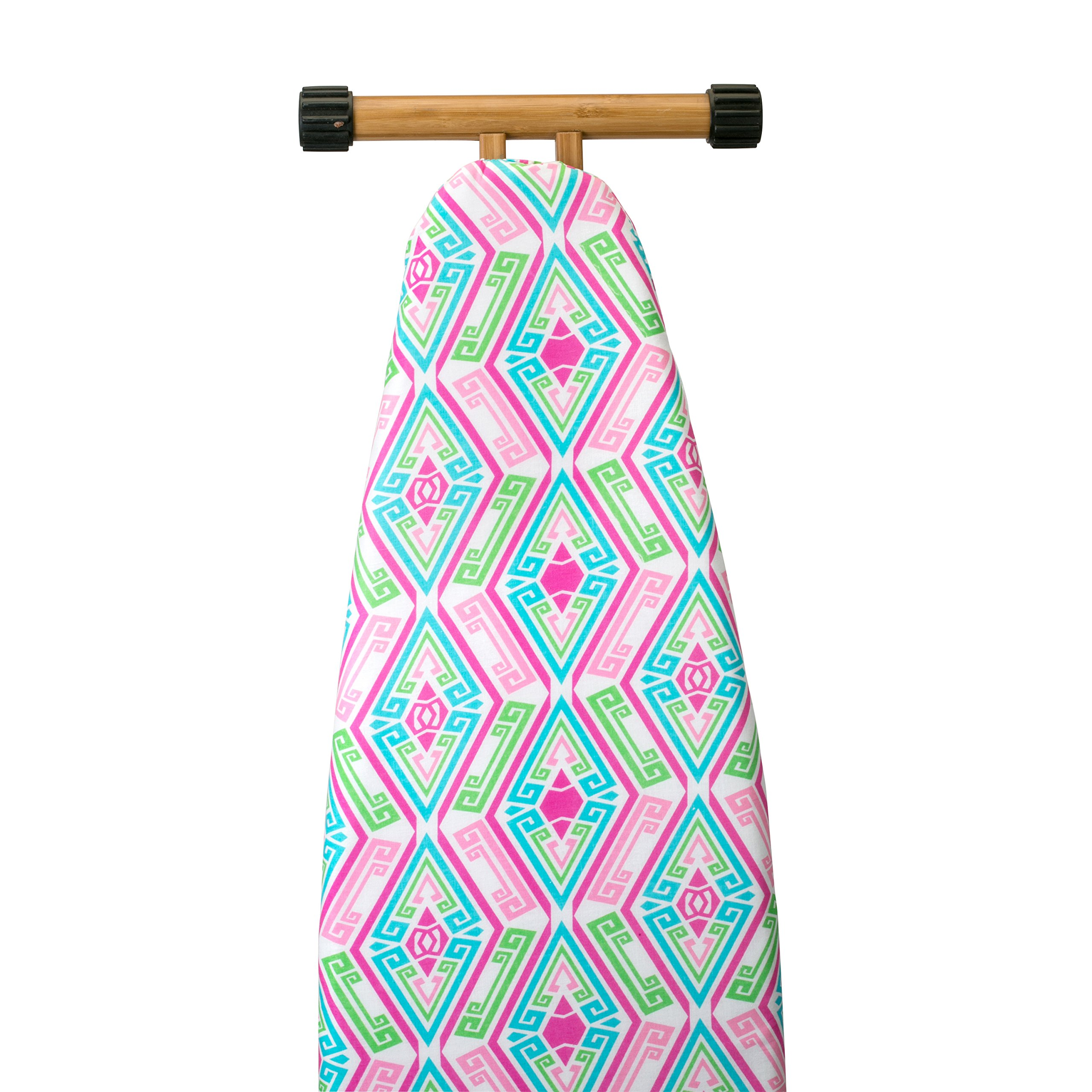 The Macbeth Collection Ironing Pad and Cover - Frequent Use - 15'' x 54'' - Jessie Multi