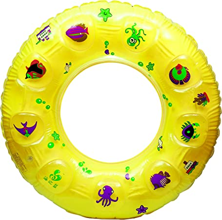 Novicz 594 Floating Tube, Kids  Yellow  Swimming Training Swim Vests