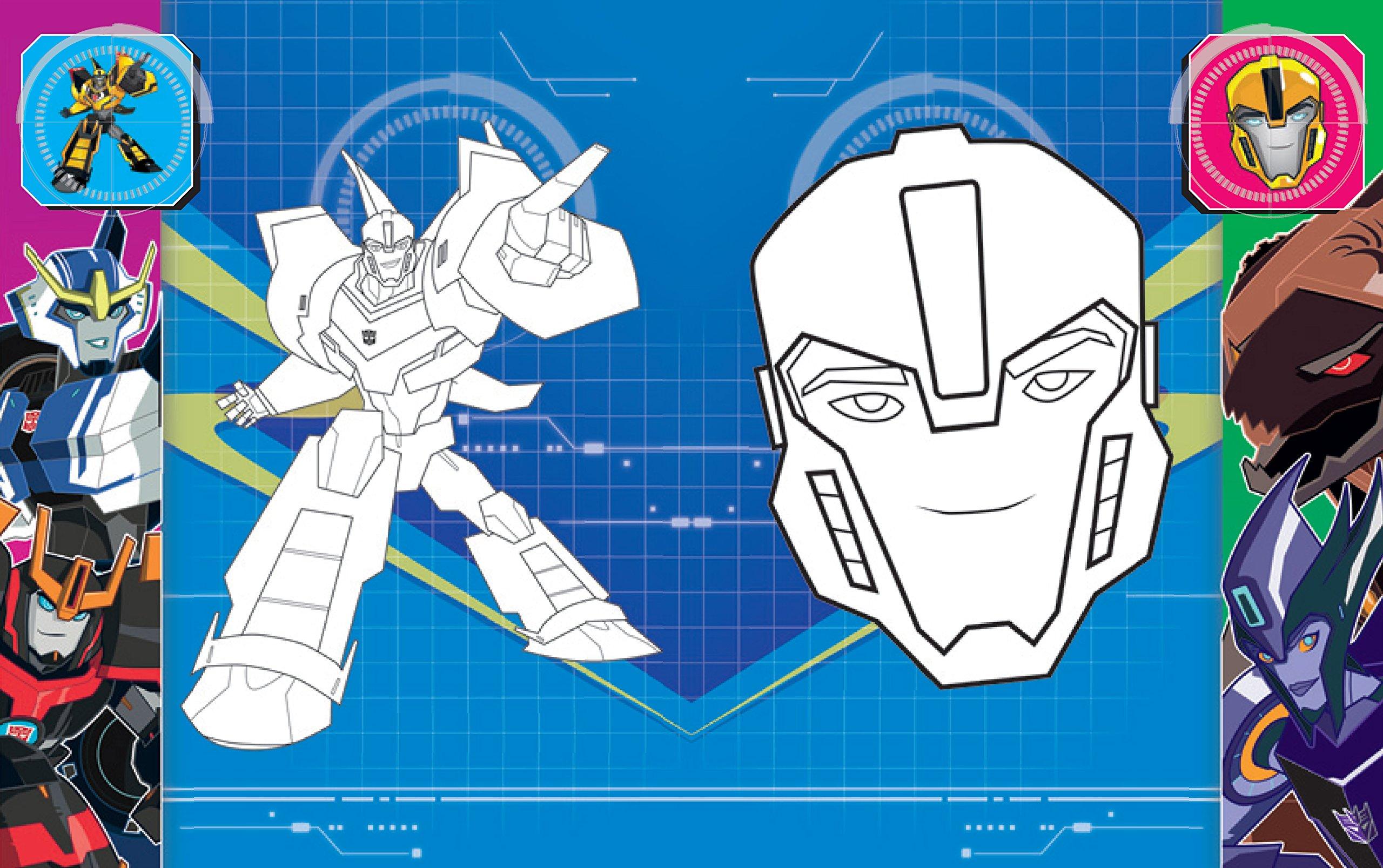 Malbuch Transformers Robots in Disguise: Mit 128 farbigen Seiten ...
