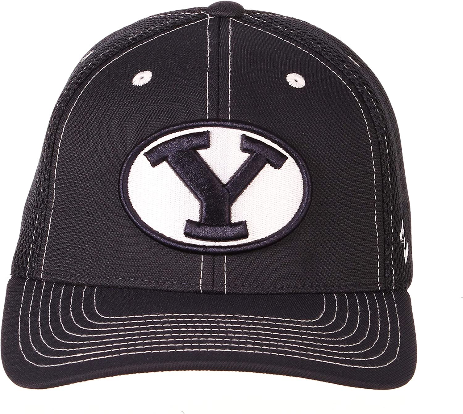 X-Large NCAA Zephyr BYU Cougars Mens Pregame 2 Performance Hat Primary Team Color