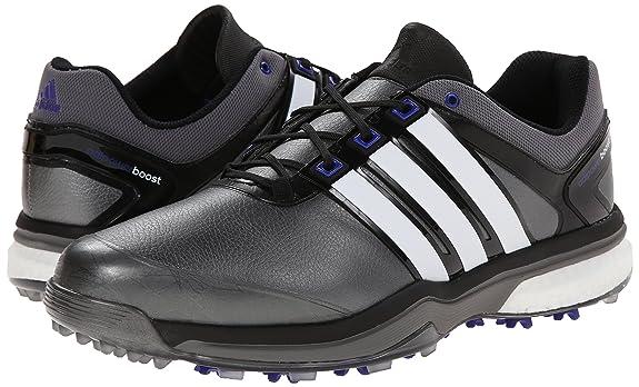 separation shoes 2fcc3 8a603 adidas Men s Adipower Boost Golf Shoe, Dark Silver Metallic Running  White Night Flash, 10 M US  Amazon.it  Scarpe e borse