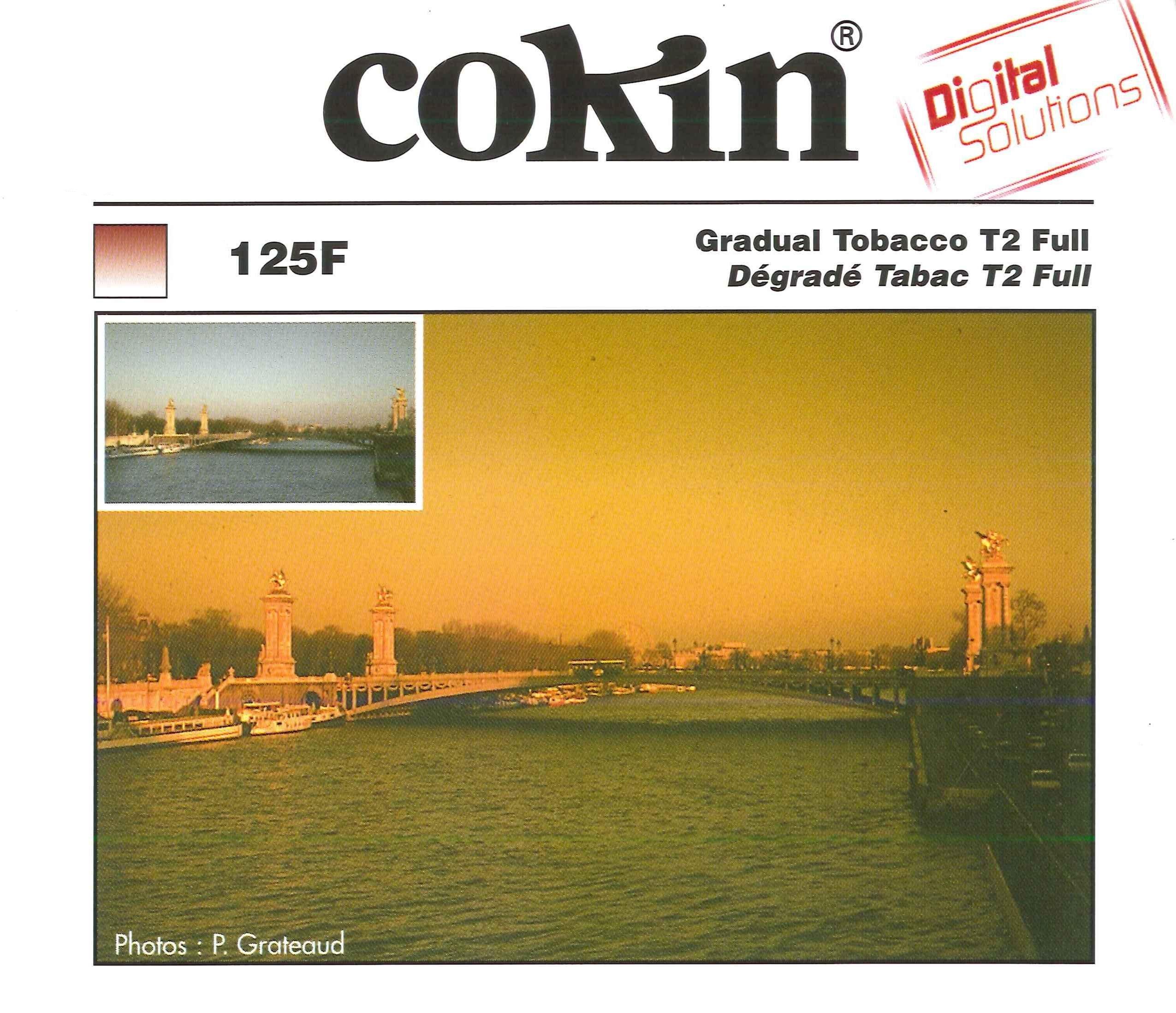 Cokin A125F Filter, A, Tobacco Grad. T2 Full by Cokin