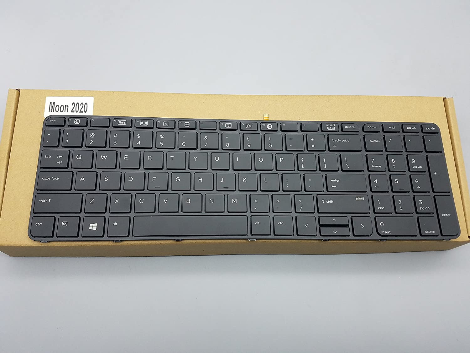 Replacement Keyboard for HP ProBook 450 G3 / 455 G3 / 470 G3 Laptop with Frame Backlight