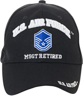 a4aa3e0b02b Artisan Owl Officially Licensed US Air Force Retired Baseball Cap -  Multiple Ranks!