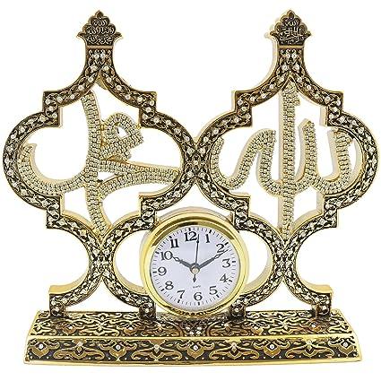 Amazon.com: Effak Islamic Frames 11.80 inches, Desk Clock, Table ...