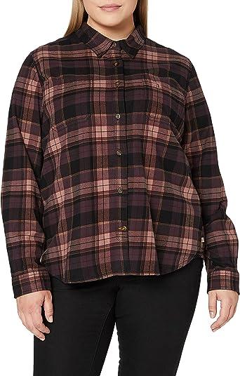 Carhartt Rugged Flex Hamilton Shirt (Regular and Plus Sizes) Camisa con cuello abotonado para Mujer