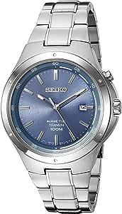Seiko Men's 'Kinetic' Quartz Titanium Dress Watch (Model: SKA729)