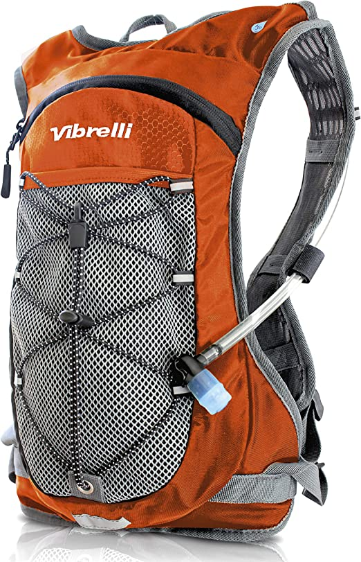 Vibrelli Hydration Pack & 2L Hydration Water Bladder