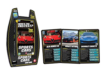 Buy Top Trumps Deluxe Sports Cars Multi Color Online At Low - Sports cars top trumps