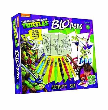 Amazon.com: Blo Pens Tortugas My Blo Pens actvity Set: Toys ...