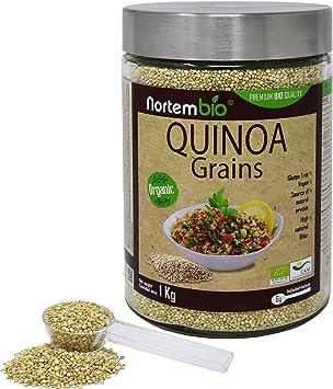 Semillas de Quinoa Natural NortemBio 1 kg, Calidad Premium ...