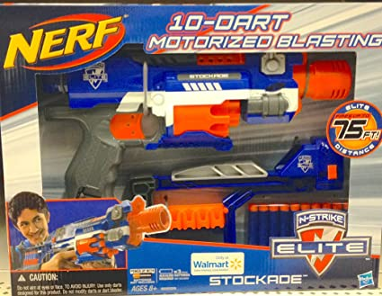 NERF N-STRIKE ELITE STOCKADE Blaster   Toys for Boys   Nerf