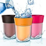 Flavor Enhancing water Cup - Orange, Cola and Berry flavor. Helps You Drink Water Instead of Soda, Juice and Sugary Drinks by The Right Cup
