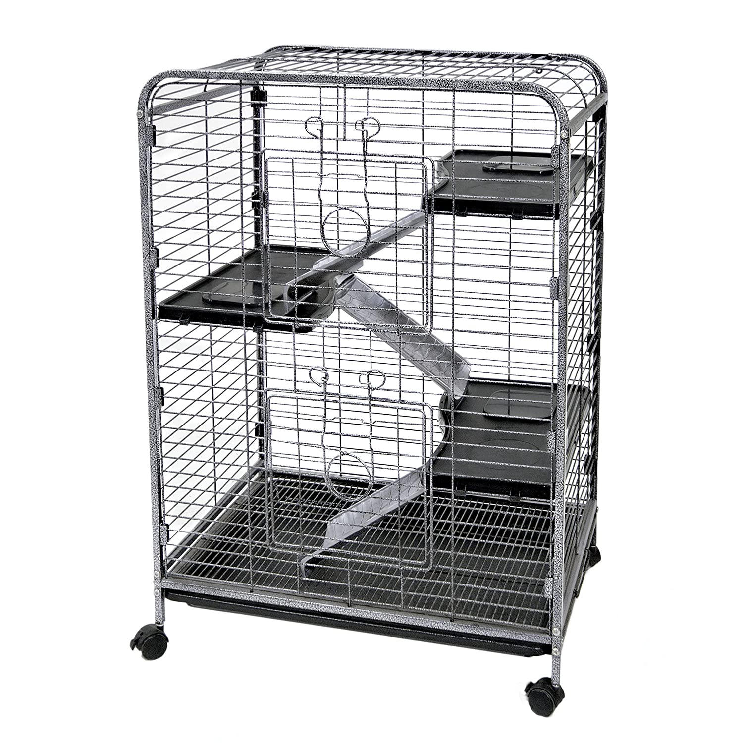 Ware Manufacturing WARE Indoor 4 Level Hutch Small Animal Cage