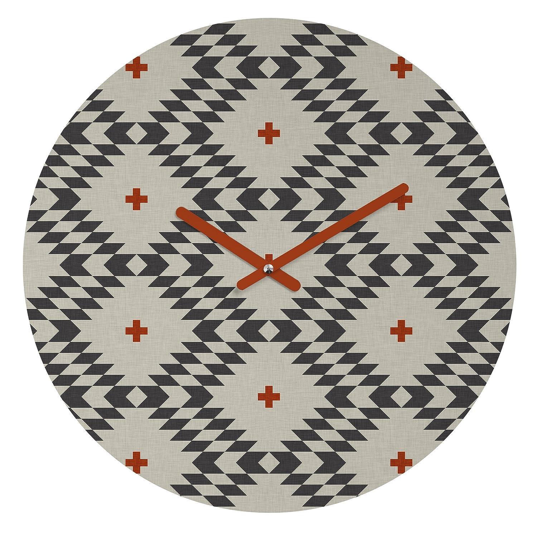 Deny Designs Holli Zollinger Native Natural Plus Round Clock