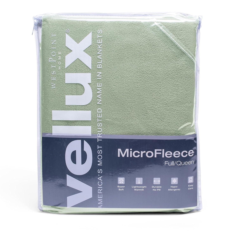 Eclipse Blue King Lightweight Microfiber Warm FLEECE BLANKET BY VELLUX Soft Polar fleece