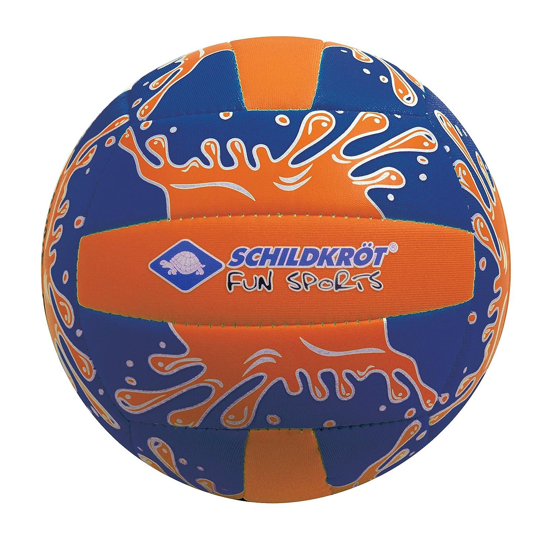 Schildkroet Funsports 970274 Mini Pelota de Voleibol, Unisex niños, Naranja/Azul, M Unisex niños Schildkröt Fun Sport