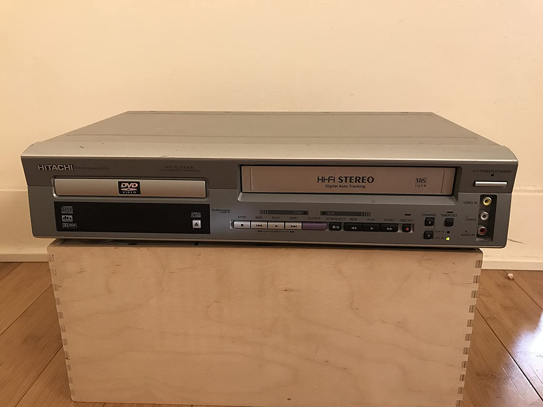 Hitachi DV PF2U - DVD/VCR combo