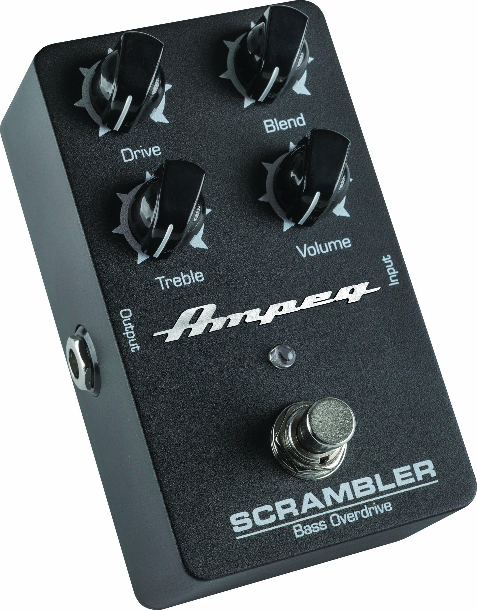Ampeg Scrambler Bass Overdrive Pedal