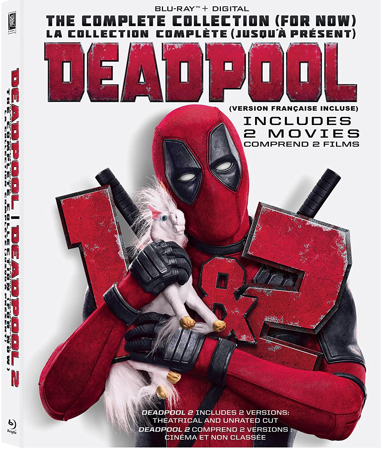 Deadpool 1+2 2 pack (Bilingual) [Blu-ray + Digital Copy]
