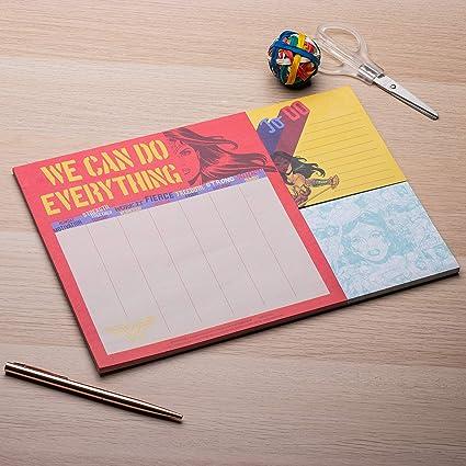 Wonder Woman - Planificador de escritorio (tamaño A4 ...